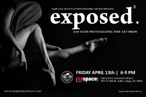 NUDE ART SHOW FEATURES FINE ART PIECES FROM GROWING LOCAL PHOTOGRAPHIC ART SOCIETY